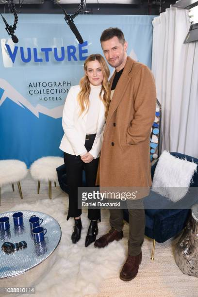 Riley Keough and Richard Armitage attend The Vulture Spot during Sundance Film Festival on January 25, 2019 in Park City, Utah.