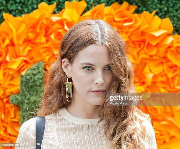Riley Keough attends 9th annual Veuve Clicquot Polo Classic at Liberty State Park