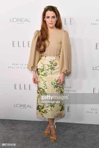 Riley Keough attends ELLE's 24th Annual Women in Hollywood Celebration presented by L'Oreal Paris Real Is Rare Real Is A Diamond and CALVIN KLEIN at...