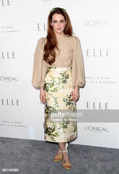 Riley Keough attends ELLE's 24th Annual Women in Hollywood Celebration at Four Seasons Hotel Los Angeles at Beverly Hills on October 16 2017 in Los...
