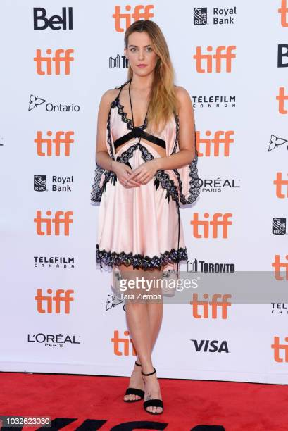Riley Keough attends 'Hold The Dark' premiere during 2018 Toronto International Film Festival at Princess of Wales Theatre on September 12 2018 in...