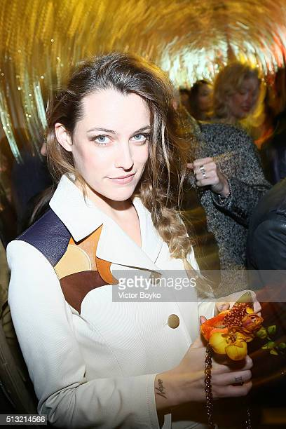 Riley Keough attends Prom 2016 Party hosted by Coach for the Paris Flagship opening as part of the Paris Fashion Week Womenswear Fall/Winter...