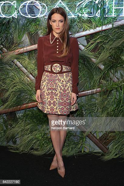 Riley Keough attends the 2016 Coach And Friends Of The High Line Summer Party at The High Line on June 22 2016 in New York City