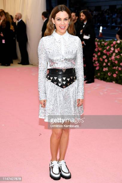 Riley Keough attends The 2019 Met Gala Celebrating Camp Notes on Fashion at Metropolitan Museum of Art on May 06 2019 in New York City