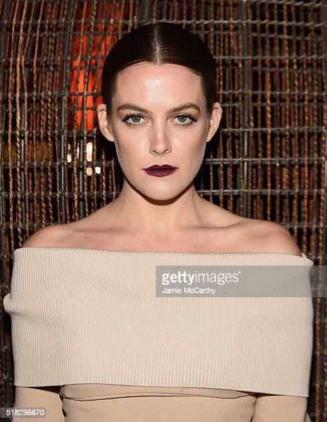 Riley Keough attends the after party for the New York premiere of 'The Girlfriend Experience' at Nobu 57 on March 30 2016 in New York City