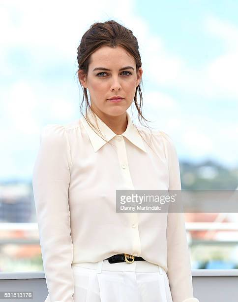 Riley Keough attends the 'American Honey' photocall during the 69th annual Cannes Film Festival at the Palais des Festivals on May 15 2016 in Cannes...
