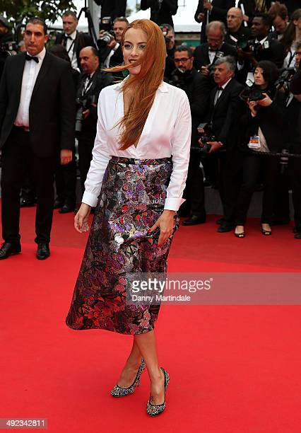 Riley Keough attends the Foxcatcher Premiere at the 67th Annual Cannes Film Festival on May 19 2014 in Cannes France