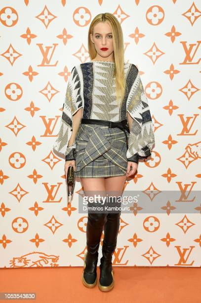 Riley Keough attends the Louis Vuitton X Grace Coddington Event on October 25 2018 in New York City