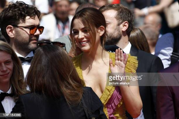 Riley Keough attends the premiere of 'American Honey' during the 69th Annual Cannes Film Festival at Palais des Festivals in Cannes France on 15 May...