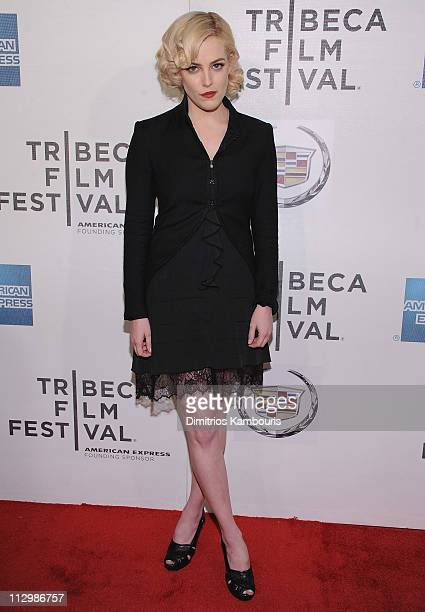 Riley Keough attends the premiere of The Good Doctor during the 10th annual Tribeca Film Festival at BMCC Tribeca PAC on April 22 2011 in New York...