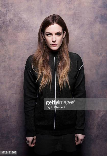 Riley Keough of 'The Girlfriend Experience' poses for a portrait at the 2016 Sundance Film Festival on January 24 2016 in Park City Utah CREDIT MUST...