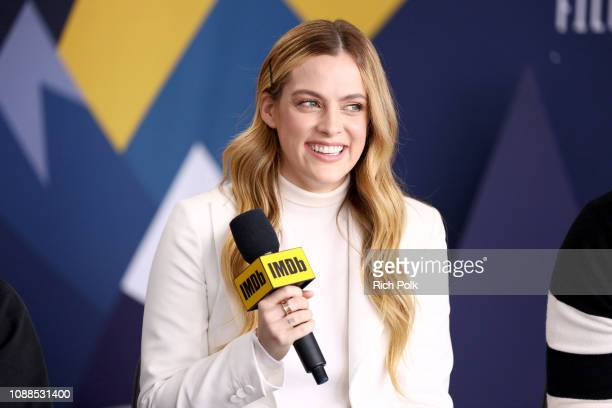 Riley Keough of 'The Lodge' attends The IMDb Studio at Acura Festival Village on location at the 2019 Sundance Film Festival Day 1 on January 25 2019...