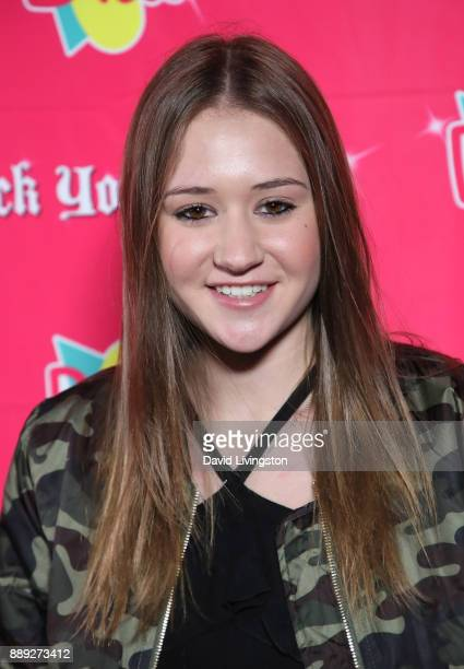 Riley Lewis attends social media influencer Annie LeBlanc's 13th birthday party at Calamigos Beach Club on December 9 2017 in Malibu California