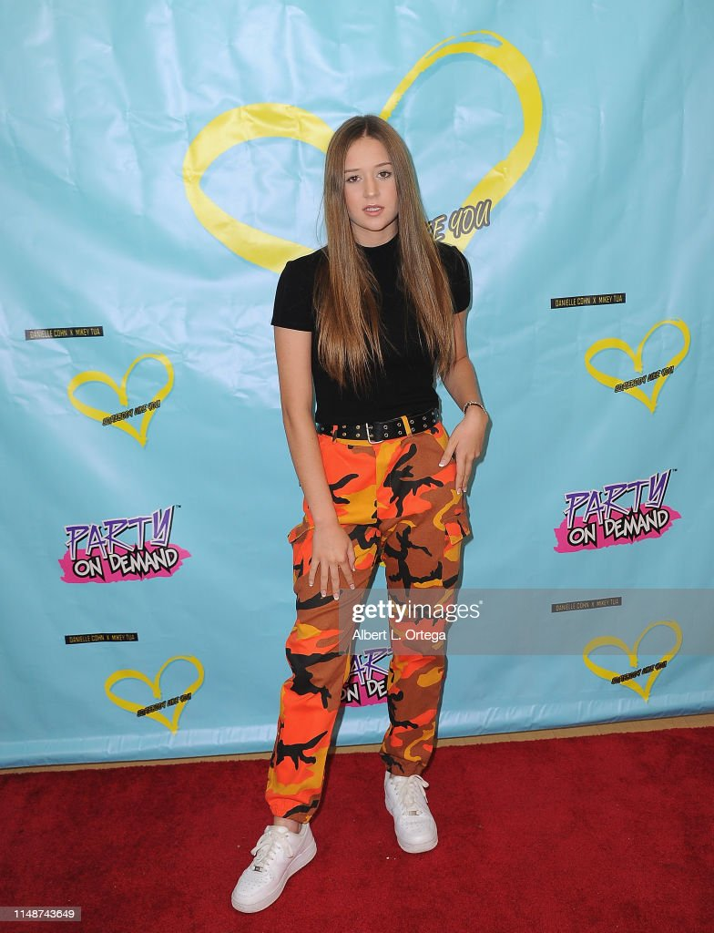 "Release Party For Dani Cohn And Mikey Tua's Song ""Somebody Like You"" : News Photo"