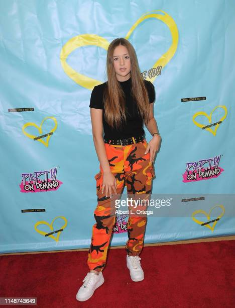Riley Lewis attends the Release Party For Dani Cohn And Mikey Tua's Song Somebody Like You held at The Industry Loft on June 8 2019 in Los Angeles...