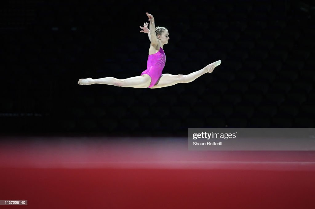 GBR: Artistic Gymnastics - All-around World Cup