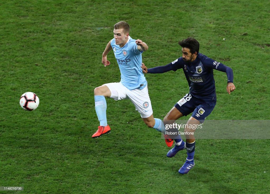 A-League Rd 27 - Melbourne City v Central Coast : News Photo