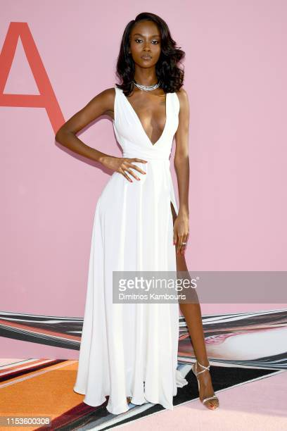 Riley Montana attends the CFDA Fashion Awards at the Brooklyn Museum of Art on June 03 2019 in New York City