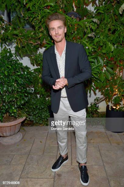 Riley Smith attends the Max Mara Celebration for Alexandra Shipp 2018 Women In Film Max Mara Face Of The Future Award Recipient at Chateau Marmont on...
