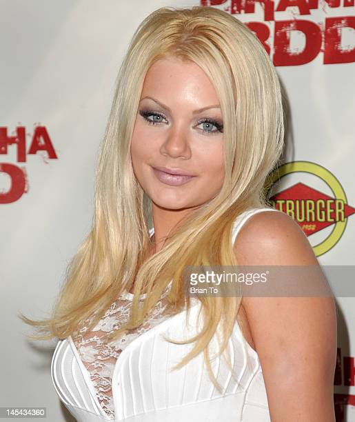 Riley Steele attends Piranha 3DD Los Angeles Premiere Arrivals at Mann Chinese 6 on May 29 2012 in Los Angeles California