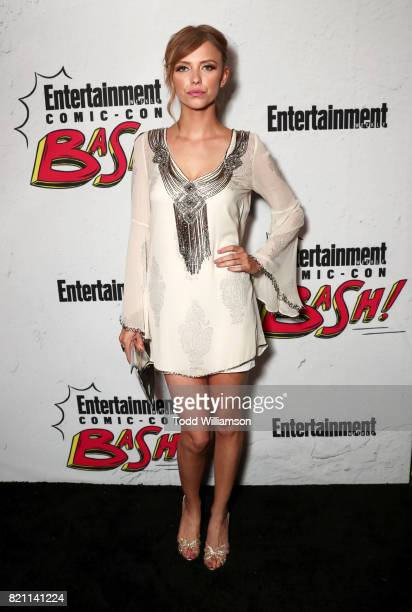 Riley Voelkel at Entertainment Weekly's annual ComicCon party in celebration of ComicCon 2017 at Float at Hard Rock Hotel San Diego on July 22 2017...