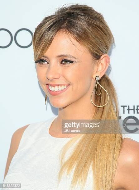 Riley Voelkel attends a Sony Pictures Television Social Soiree featuring Amazon pilots 'The Last Tycoon' and 'The Interestings' on June 28 2016 in...