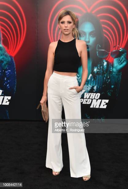 Riley Voelkel attends the Premiere Lionsgate's The Spy Who Dumped ME at the Fox Village Theater on July 25 2018 in Los Angeles California