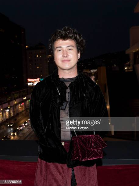 Riley Westling arrives at 17th Annual Oscar-Qualifying HollyShorts Film Festival Opening Night at Japan House Los Angeles on September 23, 2021 in...