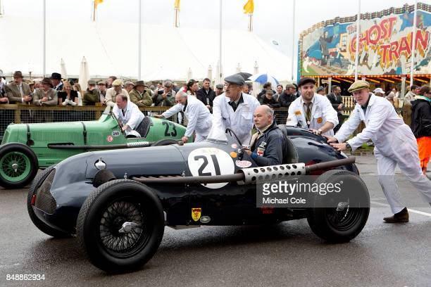 RileyERA 'Brooke Special' entrant Stewart Wilkie driven by Mark Butterworth in the Goodwood Trophy at Goodwood on September 8th 2017 in Chichester...