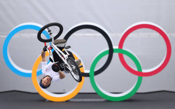 JPN: Cycling - BMX Freestyle - Olympics: Day 8