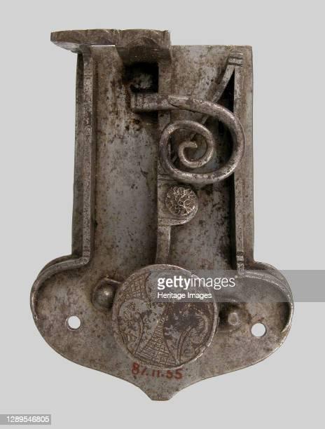 Rim of lock, German, 16th century. Artist Unknown.