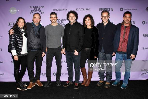 Rima Acord Lance Acord Gregory Kershaw Michael Dweck Jackie Kelman and Sam Bisbee attend the 2020 Sundance Film Festival The Truffle Hunters Premiere...