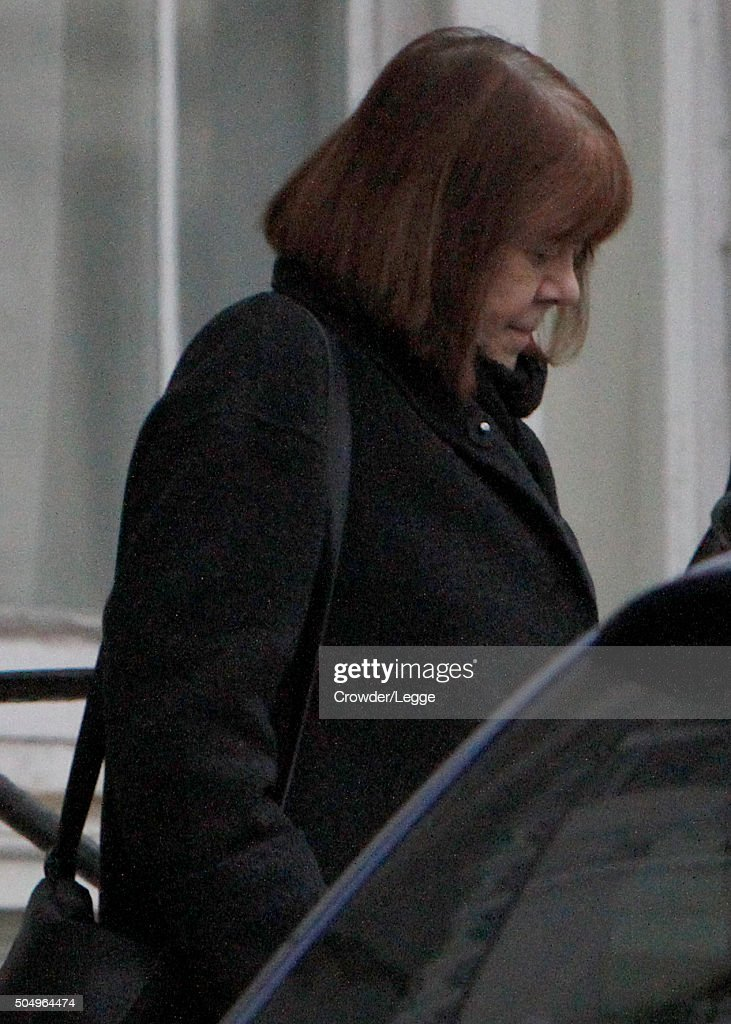 Scenes At Alan Rickman's London Home -  January 14, 2016