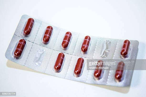 Rimactane 300 mg tablets in a blister pack This drug is manufactured by Sandoz and contains Rifampicin antibiotic used as first line treatment for...