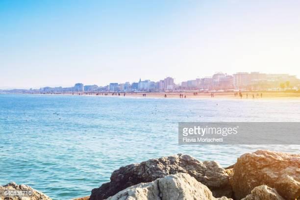 Rimini beach, Italy