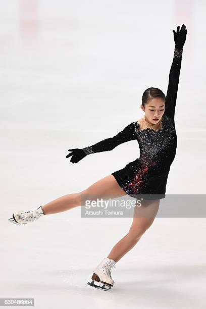 Rin Nitaya of Japan competes in the Ladies short program during the Japan Figure Skating Championships 2016 on December 24 2016 in Kadoma Japan