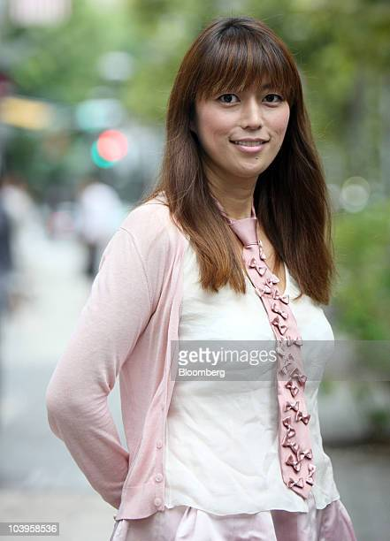 Rina Bovrisse poses for a photograph in Tokyo Japan on Thursday Sept 9 2010 Bovrisse became a cause celebre because of her sexualdiscrimination...