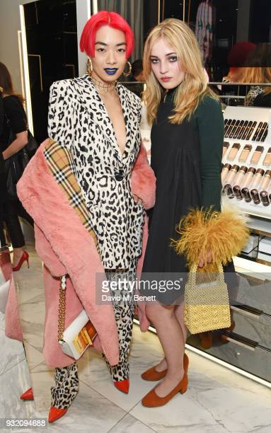 Rina Sawayama and Julia CampbellGillies attend a party hosted by Tom Ford Beauty and Dazed to celebrate the launch of Tom Ford Extreme at Tom Ford...