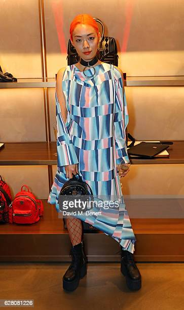 Rina Sawayama attends MCM's London Flagship Opening Party on December 6 2016 in London England