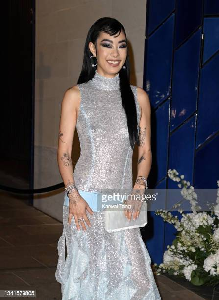 Rina Sawayama attends the British Vogue x Tiffany & Co. Fashion and Film party at The Londoner Hotel on September 20, 2021 in London, England.