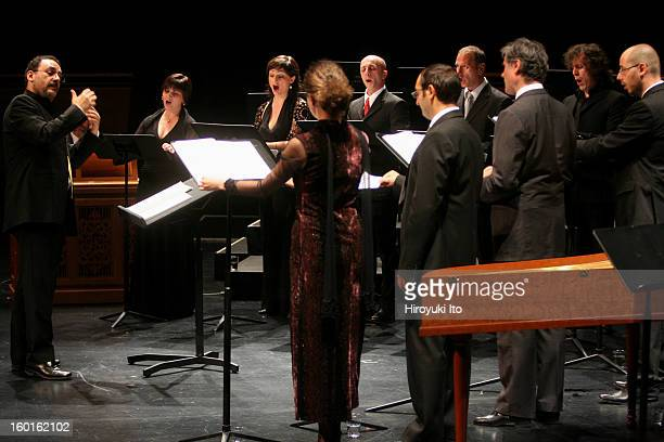Rinaldo Alessandrini leading the Concerto Italiano at the Rose Theater as part of Mostly Mozart Festival on Monday night August 4 2008This...