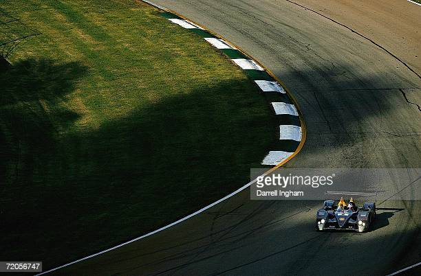 Rinaldo Capello drives the Audi Sport North America Audi R10 during the American Le Mans Series Petit Le Mans at Road Atlanta on September 30, 2006...