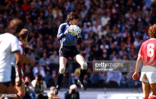 Rinat Dasaev during the World Cup match between URSS and New Zealand at La Rosaleda Stadium Malaga Spain on 19th June 1982