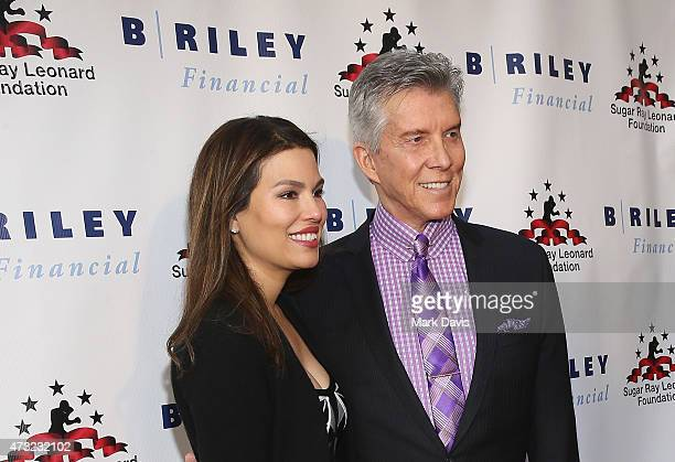 Ring announcer Michael Buffer and Christine Buffer attend B Riley Co And Sugar Ray Leonard Foundation's 6th Annual Big Fighters Big Cause Charity...