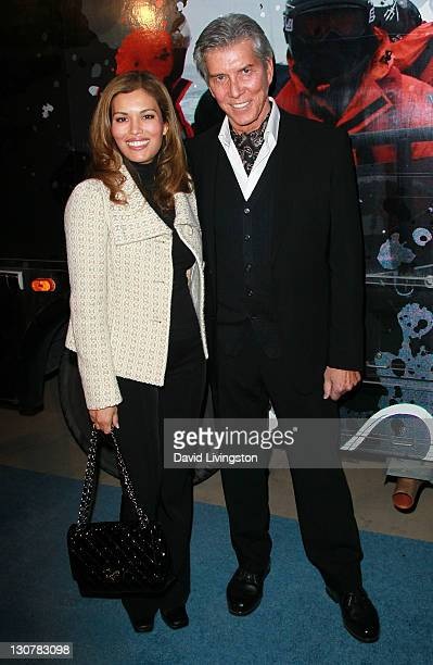 Ring announcer Michael Buffer and wife Christine Buffer attend the launch of Operation Divine Wind Sea Shepherd's 8th Antarctic Whale Defense...