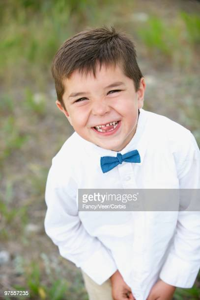 Ring Bearer Boy Smiling
