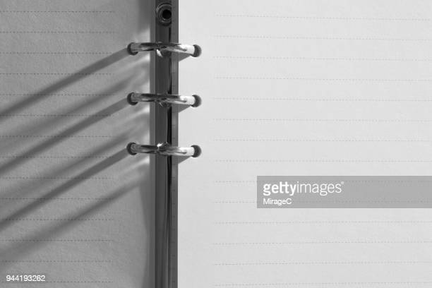 Ring Binder Monochrome