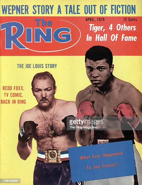 Ring Magazine Cover Chuck Wepner and Cassius Clay on the cover