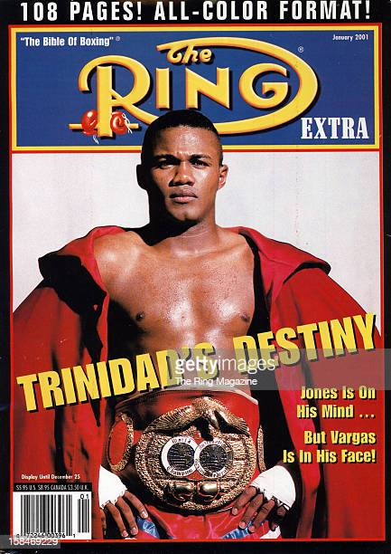 Ring Magazine Cover Felix Trinidad on the cover
