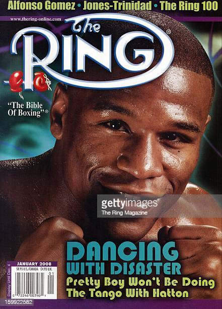 Ring Magazine Cover Floyd Mayweather Jr on the cover